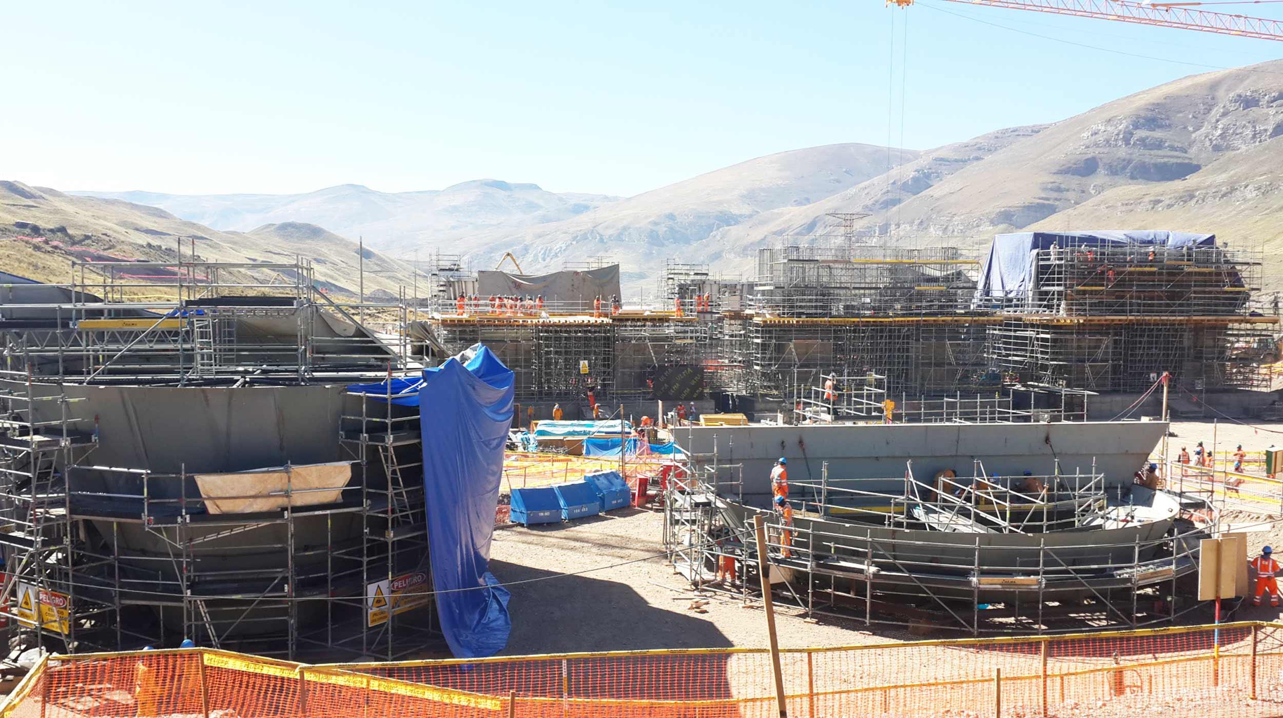 El proyecto Planta de Cal de Pachachaca dotará de 960 toneladas diarias de cal viva a la planta concentradora Toromocho.