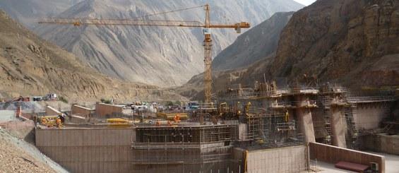 Central hidroeléctrica Cheves, Lima, Perú