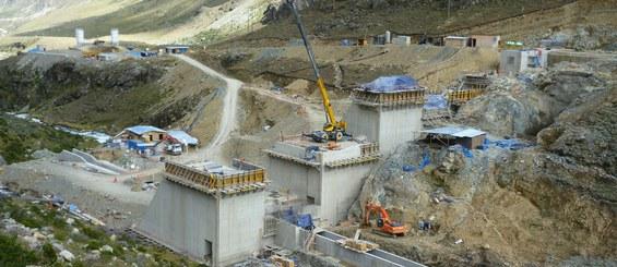 Central hidroeléctrica de Huanza, Huarochirí, Perú