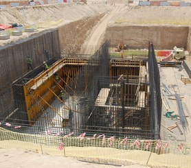 Estación Principal de Bombeo de Aguas Residuales, Jebel Ali, Dubai, EAU