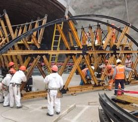 Túnel San Rosa, Lima, Perú