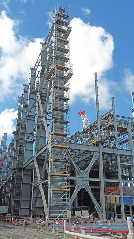 Andamio multidireccional BRIO, un gran activo en el desarrollo de la operación Toromocho de Chinalco