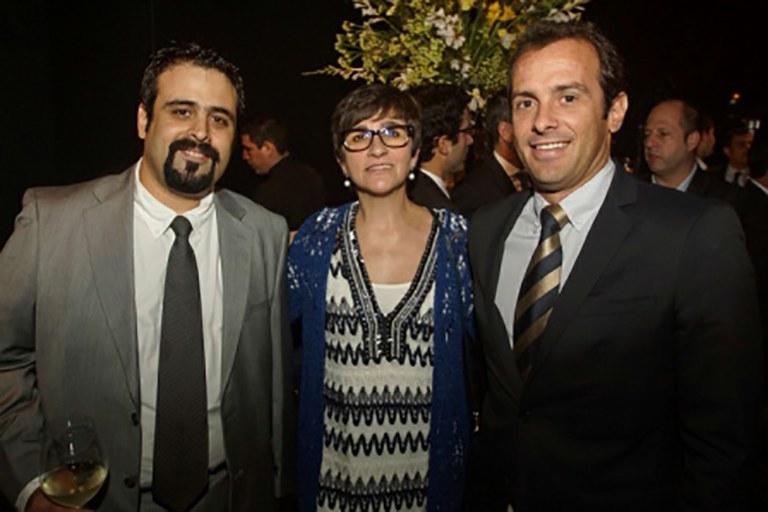 Dario Belmonte, Lourdes Urzelai y Victor Valero.