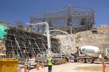 Despliegue de soluciones en la ampliación de la mina Toquepala