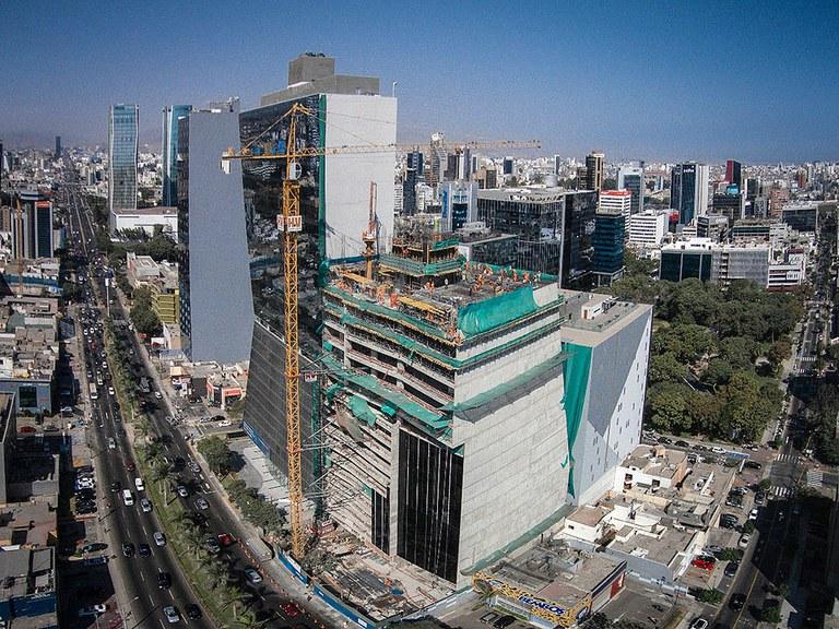 Experiencias ATR en Perú, Torre Javier Prado
