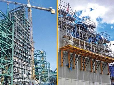 Gran experiencia en proyectos industriales