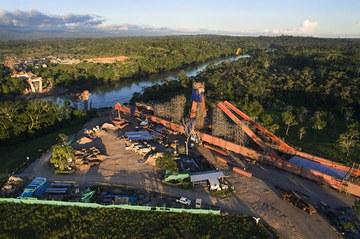 Ingenieria en soluciones de andamio y cimbra BRIO en Puente Pachitea