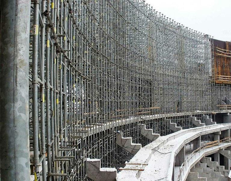 Tauron Arena, el pabellón de deportes más grande de Polonia